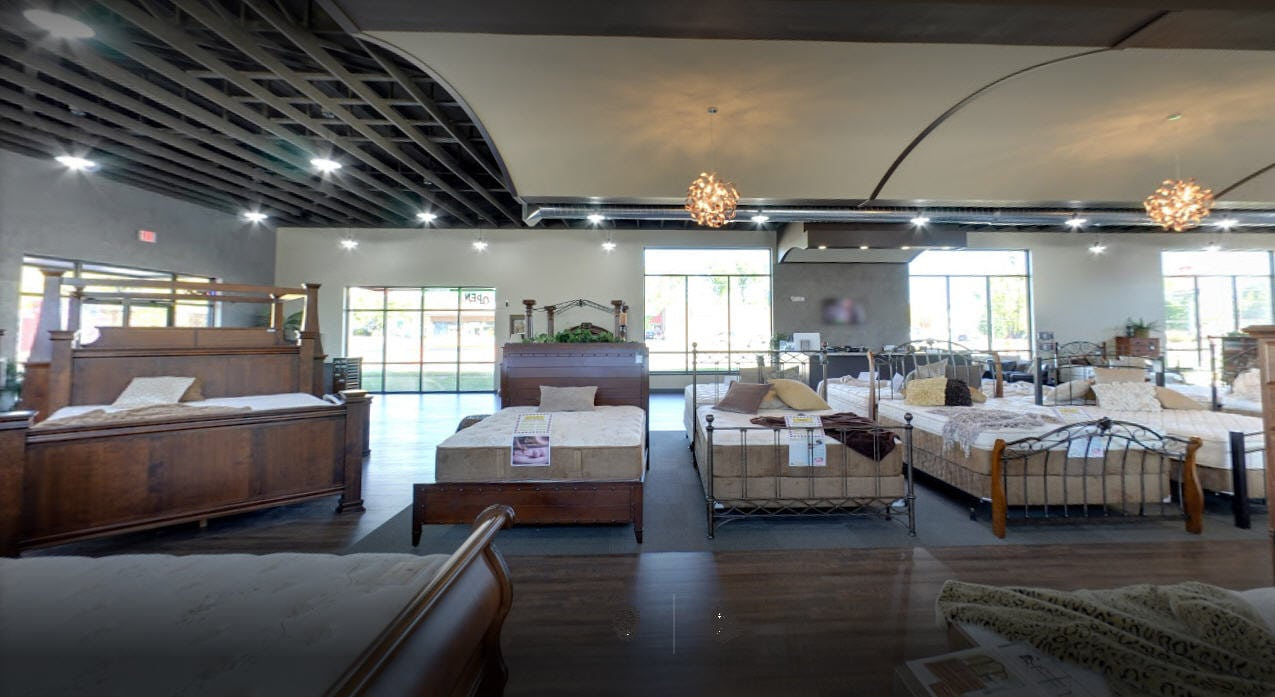 store interior | Lebeda Mattress Factory
