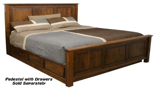 Panel bed, drawer unit sold seperately