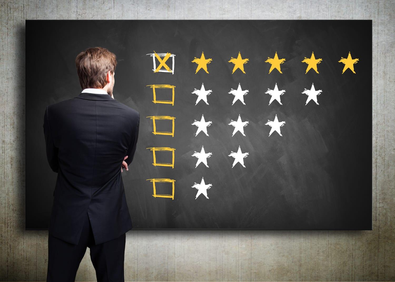 review stars examination